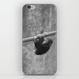 Hold on, little one iPhone Skin