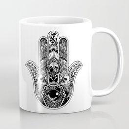 Hamsa Hand French Bulldog Coffee Mug