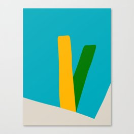 Mid Century Modern 9 Canvas Print