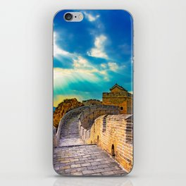 Simatai West Great Wall iPhone Skin