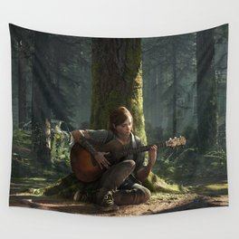 Ellie the last of us Wall Tapestry