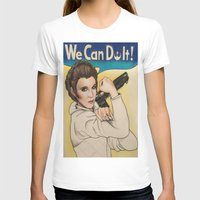leia T-shirts featuring Leia by seventhwonderwitch