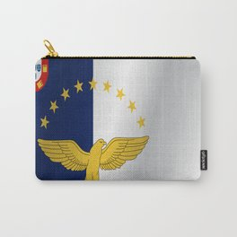 Flag of Azores Carry-All Pouch
