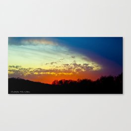 Moving In Canvas Print