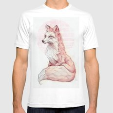 Vulpes Vulpes Mens Fitted Tee SMALL White