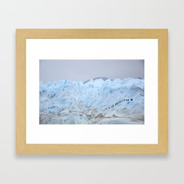 Glaciar Framed Art Print
