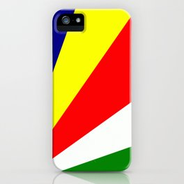Flag of Seychelles iPhone Case