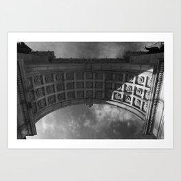 Grand Army Plaza Memorial Arch, Brooklyn Art Print