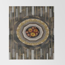apple mac pro pattern Throw Blanket