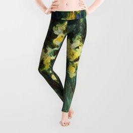 "Claude Monet ""Yellow irises"" Leggings"