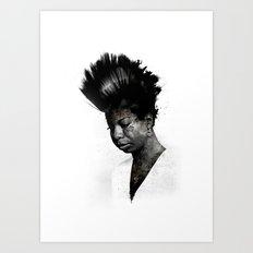 NINA'S NOT DEAD Art Print