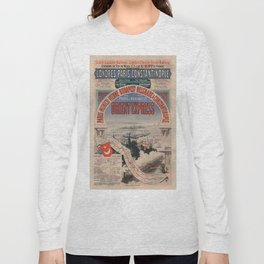 Vintage poster - Orient Express Long Sleeve T-shirt