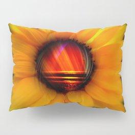 Sunflower -sunse Pillow Sham