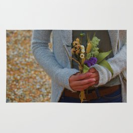 A small Bouquet Rug
