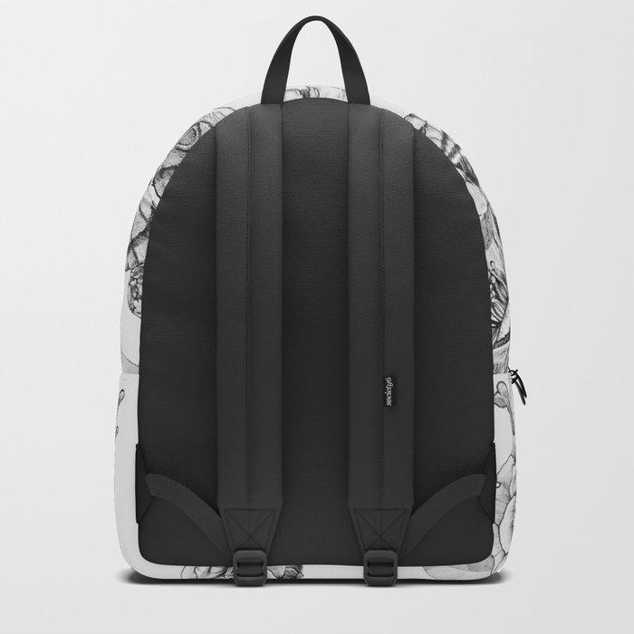 Moths & Camellias Backpack