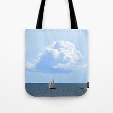 Atlantic Cloud Tote Bag