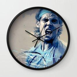 Rafa Nadal -Roger Federer Wall Clock