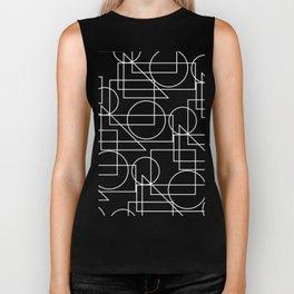 Geometric on black background #society6 #decor #buyart #artprint Biker Tank