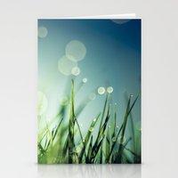grass Stationery Cards featuring Grass  by Koka Koala