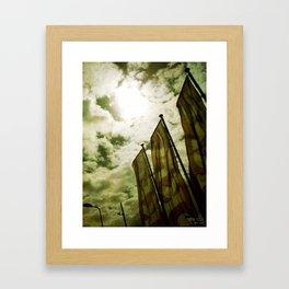 Feed me Clouds 2 Framed Art Print