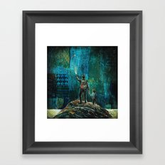 My Hero Framed Art Print