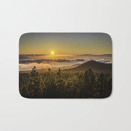 Sunset at 1800m Bath Mat