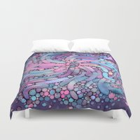 mosaic Duvet Covers featuring Mosaic by Antracit