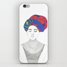 Fashion Illustration 1  iPhone & iPod Skin