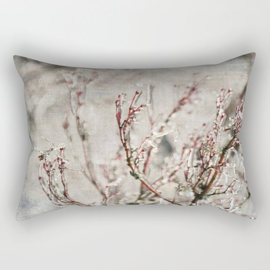 ICICLE BRANCHES Rectangular Pillow