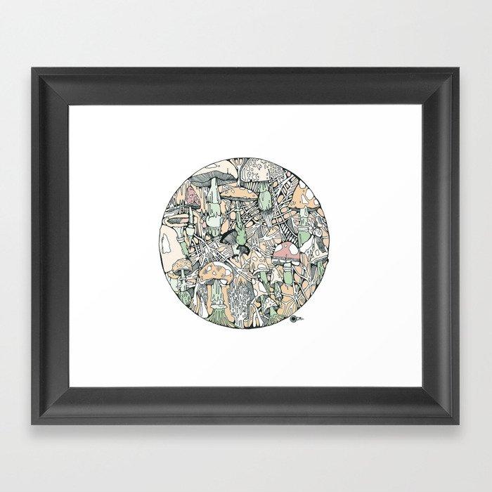 mushaboom Framed Art Print