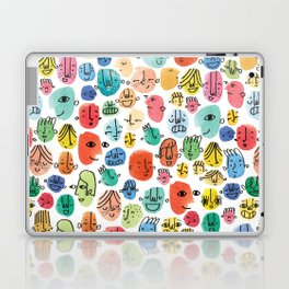 Faces Laptop & iPad Skin