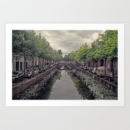 Delft Art Print