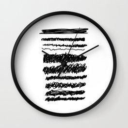 MURDER Wall Clock