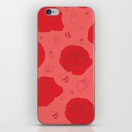 Only red iPhone Skin
