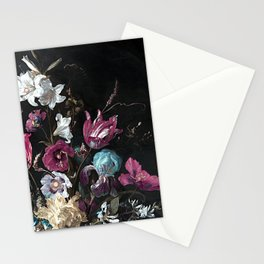 Vintage Flowers and Bugs Stationery Cards
