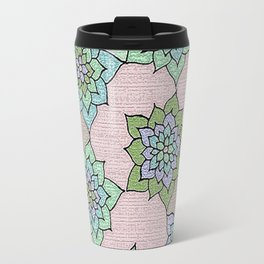 zakiaz lotus design Travel Mug
