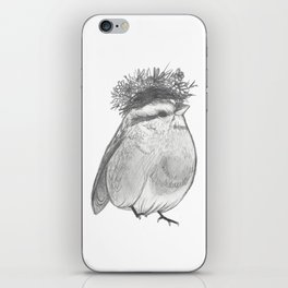 Bird with Bed Head iPhone Skin