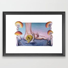 """Irrigational Erosion"" Framed Art Print"