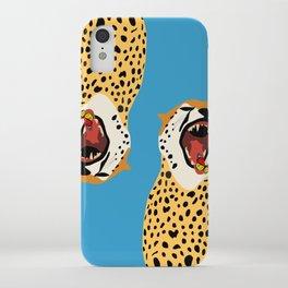 Screaming Cheetah iPhone Case