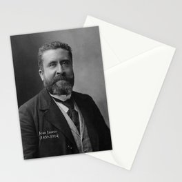 Portrait of Jean Jaurès By Nadar Stationery Cards