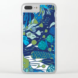 WATER YOU TALKING ABOUT? Clear iPhone Case
