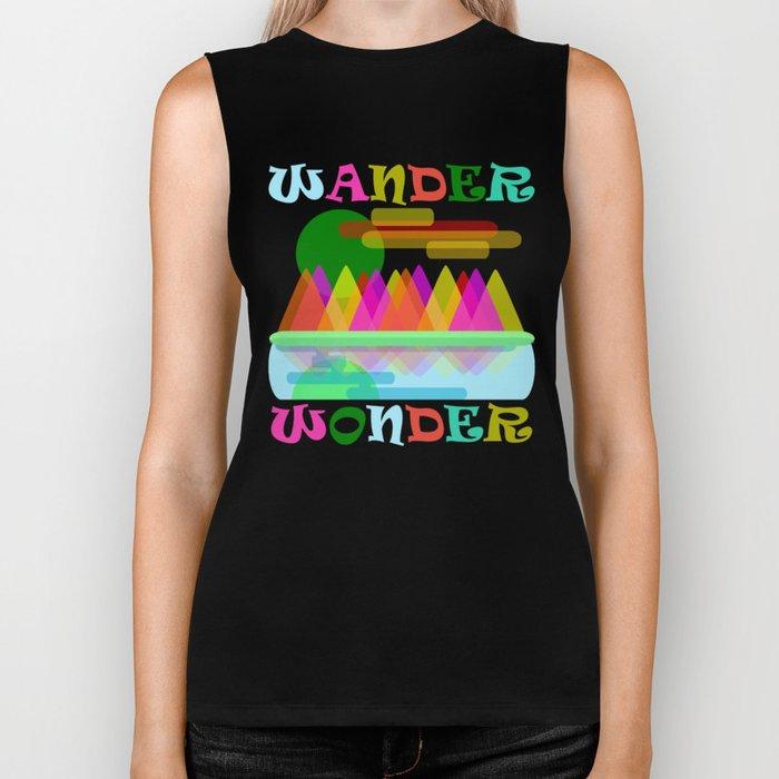 Wander Wonder Biker Tank
