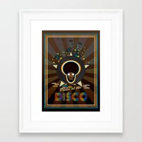 panic at the disco Framed Art Prints featuring Panic at the disco by mangulica illustrations