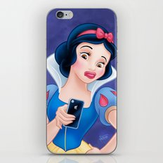 Snow White Duck Face iPhone & iPod Skin