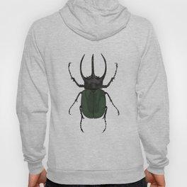 Atlas Beetle Insect Digital Watercolor Hoody