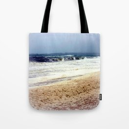 Rough Seas & Sea Foam Tote Bag