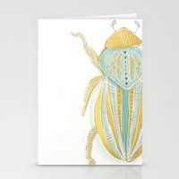 beetle Stationery Cards featuring Beetle by Very Sarie