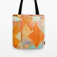 merry christmas Tote Bags featuring Merry Christmas by Fernando Vieira