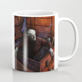 Dracula Nosferatu Vampire King Coffee Mug