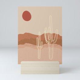 Saguaro in the Sonoran Desert Mini Art Print